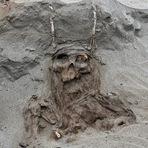 Cemitério de civilização desconhecida é encontrado no deserto do Atacama