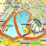 Carnatal divulga mapa oficial do circuito em Natal com área de 40.000 m²