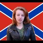 UCRÂNIA - Ryzhik, a miliciana de 17 anos de idade, da Novarrússia