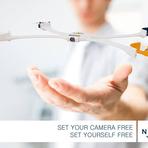 Câmera-drone em forma de bracelete que volta voando