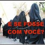"""Religião - E SE FOSSE COM VOCÊ? (Estado Islâmico leiloa meninas cristãs como """"escravas sexuais)"""