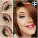 Maquiagem Simples Para O Natal!