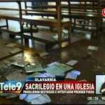 Sacrilégio na Argentina: Com um ódio satânico, Igreja é profanada na noite do Dia das Bruxas