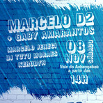 TIM Music na Rua traz Marcelo D2 com Gaby Amarantos no Vale Anhangabaú
