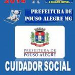 Apostila Concurso Prefeitura de Pouso Alegre MG Cuidador Social 2014