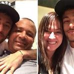 Neymar presta homenagem aos seus pais