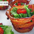 Receita Cestinha de Bacon