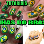 TUTORIAS UNHAS DECORADAS DO BRASI