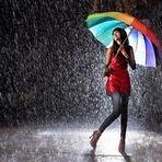 O som da chuva!