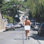 A moda do Fim dos Tempos? Em novo caso de nudez pública, uma terceira mulher corre sem roupa em Porto Alegre
