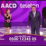 """Entretenimento - Silvio Santos mais uma vez rouba a cena no """"Teleton"""" e diverte o telespectador"""