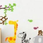 Adesivos aconchegantes para a parede de quarto infantil e bebe