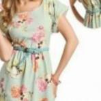 Vestidos estampados 2014 para o verão