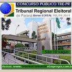 Tribunal Regional Eleitoral do Paraná (TRE/PR) publicou autorização do Concurso Público no Paraná
