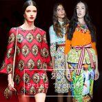 Tendências de moda das estampas e cores para o verão 2015