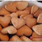 Receita Biscoitinhos Corações de Mel