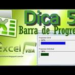 Barra de progresso no Excel