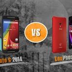 Novo Moto G vs ZenPhone 5