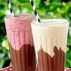 Receita de Milk Shake com Brigadeiro