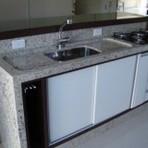 Sugestões em bancada de marmore para cozinha