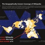 Wikipédia e sua produção geograficamente desigual