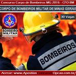 Apostila para Bombeiro Militar de Minas Gerais -CFO BM 2016 - CBMMG - BH/MG