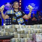 Outros - Sueco vence Mundial de Poker e leva para casa prêmio de U$ 10 milhões