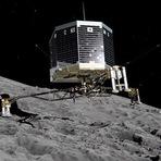 Espaço - Humanidade faz aterragem histórica em cometa