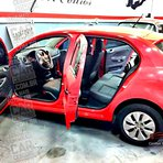 VW Gol G6 recebe bancos de couro