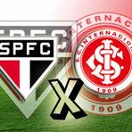 Futebol - São Paulo x Internacional como foi o jogo
