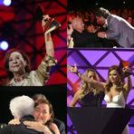 """Entretenimento - Merecida homenagem a Fernanda Montenegro foi o ponto alto do """"Prêmio Extra"""" de 2014"""