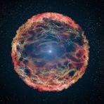 Espaço - Resolvido mistério de supernova com 20 anos (com video)