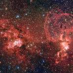 Espaço - Astrofoto: Berçário de estrelas na Via Láctea do Sul