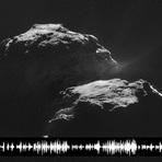 Ciência - Ouça os misteriosos sons do cometa Cientistas ficam perplexos