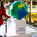 Aeroporto Heathrow: o aroma do Brasil.