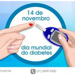Dia Mundial do Diabetes: participe e tenha uma vida mais saudável