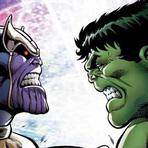 Entretenimento - Nova minissérie da Marvel mostrará Thanos vs Hulk