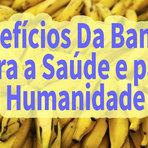 10 Benefícios da Banana Para Saúde e Para Humanidade
