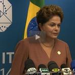 "Política - ""investigações da Lava Jato podem mudar país para sempre""...""Dilma diz ''...Presidenta Dilma concede entrevista coletiva"