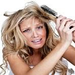 Mulher - Tratamento para os cabelos secos