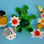 Hobbies - Como Fazer Bonequinhos  de Lã