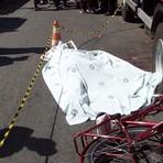 Exclusivo: acidente envolvendo ônibus e uma bicicleta, com vitima fatal...