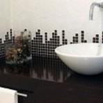 Decoração de banheiro com pastilhas