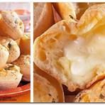 Receita Pão de queijo recheado