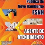 Apostila Completa 2014 AGENTE DE ATENDIMENTO - Concurso Fundação de Saúde Pública de Novo Hamburgo