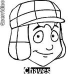 Desenhos Colorir: Chaves e Amigos