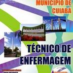 Apostila (DIGITAL) Concurso Público SES de Cuiabá - Técnico de Enfermagem (GRÁTIS CD)
