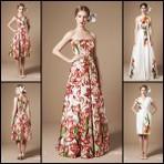 Modelos de vestidos florais verão 2015, linda coleção
