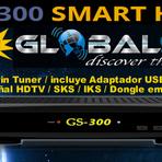 ATUALIZAÇÃO GLOBALSAT GS 300 HD VOD V1.86 - 18.11.2014
