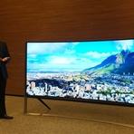 Tecnologia & Ciência - Conheça a TV curva 4K de 105 polegadas que custa meio milhão de reais